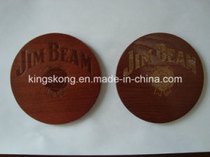 Wooden Coaster Customized Cork Coaster with Customer Design pictures & photos