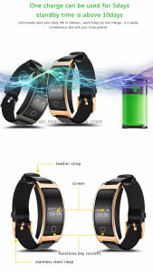 Factory Price Colorful Silicone Wristband Inspirational Smart Bracelet pictures & photos