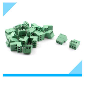 5.08mm 3 Way PCB Mount Screw Terminal Block for 14-22AWG Wire pictures & photos