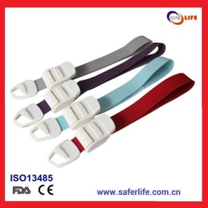 2015 Wholesale Multicolor OEM Quick Release Logo Label Printing Medical Tourniquet Plastic Buckle Tourniquet Products pictures & photos