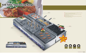 Stainless Steel Kitchen Equipments (Table Top HGR-620) pictures & photos