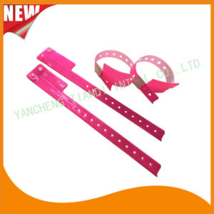 Entertainment 1 Tab Vinyl Wristbands ID Bracelet (E6070-1-7) pictures & photos