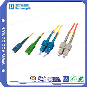 fiber optic Sc Sm Lszh Patch Cord 15m pictures & photos