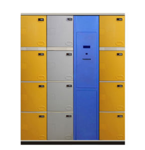Intelligent Parcel Locker Cabinet with Barcode (general ABS locker) pictures & photos