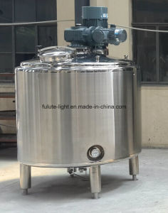 1000 Liter Stainless Steel Shampoo Mixing Tank with Homogenizer pictures & photos