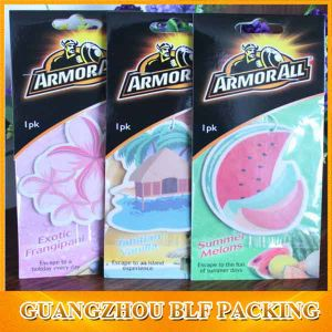 Customized Shape Cmyk Color Printing Two Surface Air Freshener Paper (BLF-C044) pictures & photos