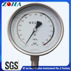 Stainless Steel High Precision Pressure Gauge pictures & photos