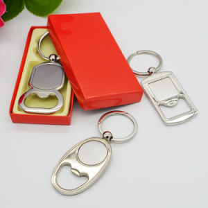 Promotional Custom Blank Metal Keychain Bottle Openers pictures & photos
