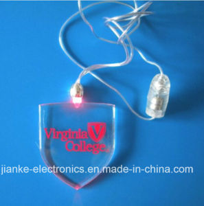 Party Favor Flashing LED Necklace with Custom Logo (2001) pictures & photos