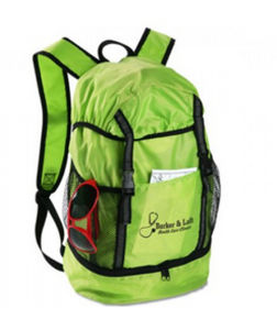 Promotional Drawstring Travelling Sport Backpack pictures & photos