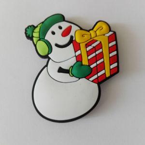 Wholesale Xmas Snowman Fridge Magnet Sticker pictures & photos