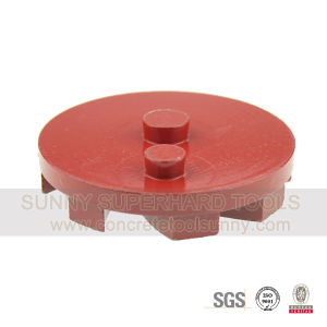 2 Pin Turbo Metal Bond Diamond Grinding Plate Wheel Tool for Prep/Master Grinder pictures & photos