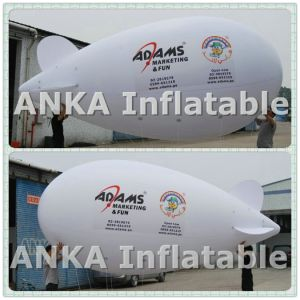 Inflatable Helium PVC Airship Blimp with Digital Print pictures & photos