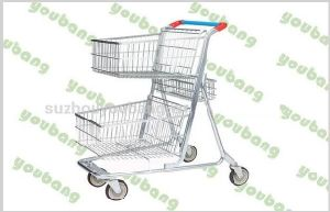 High Quality European Style Shopping Trolley pictures & photos
