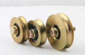 Hot and Popular Single Pulley Gate Wheels pictures & photos