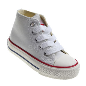 Canvas High Top Vulcanized Shoes for Children