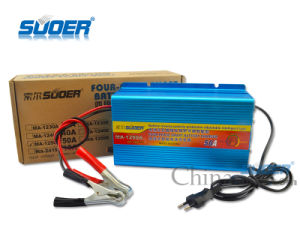 Suoer Fast Battery Charger 50A Four-Phase Charging Mode 12V Battery Charger with CE&RoHS (MA-1250A) pictures & photos