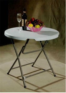 Small Plastic Coffee Folding Table pictures & photos