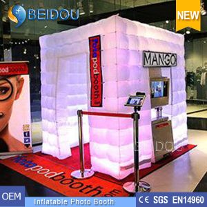 Wedding Photo Booth Frame Enclosure Shell Portable Inflatable Photo Booth pictures & photos