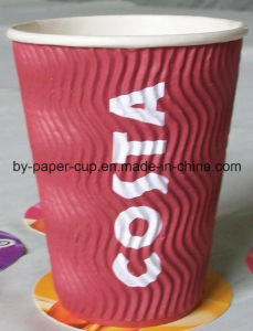 Ripper Paper Cup Insulated Coffer Cup pictures & photos