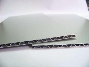 Aluminum Corrugated Core Sandwich Panels for Moble Home pictures & photos
