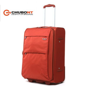 Chubont Fashion Style 2 Wheels Waterproof Mterial 210d Lining Travel Trolleycases pictures & photos
