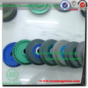 Grinding Carbide with Diamond Wheel-Concave Diamond Grinding Wheel for Stone Grinding pictures & photos