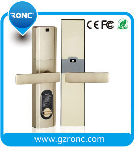 Stainless Steel Electronic Smart IC Card Hotel Door Lock pictures & photos