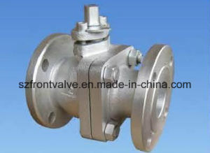 BS Cast Iron Flanged Ball Valve pictures & photos