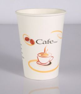 Disposable Daily Use Paper Cup Single PE Cup