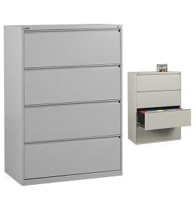 China 4 Drawer Metal Lateral File Storage Cabinets - China File ...