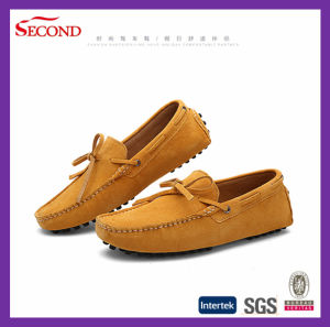 Cow Suede Drive Loafer Shoes for Men and Women pictures & photos