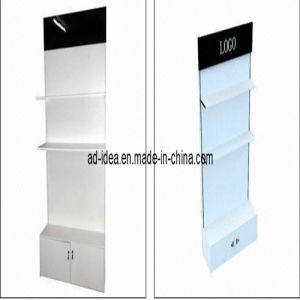 Single-Side with Panels and Logo, Clothing Display Stand (AD-130704) pictures & photos