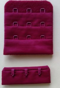 """Bra Accessories Nylon Brush Back Hook and Eye Tape 1/2"""" 3X3 pictures & photos"""