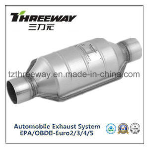 Car Exhaust System Three-Way Catalytic Converter #Twcat019 pictures & photos