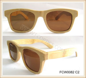 Real Handmade Bamboo Wooen Color Sunglasses pictures & photos