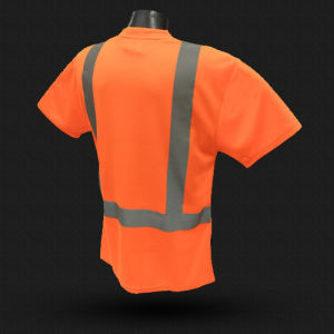 Reflective Safety T-Shirt with ANSI07 (T-003) pictures & photos