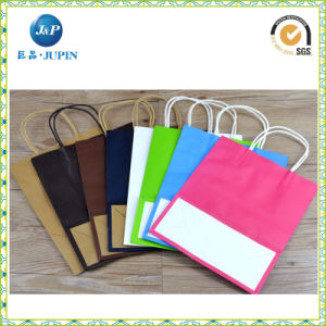 Wholesales Custom Logo Design Packing Paper Gift Bag (JP-PB001) pictures & photos