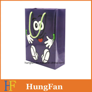 Lovely Cartoon Style Gift Paper Bag with Logo Printing pictures & photos