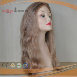 Human Hair Lace Front Medical Women Wigs pictures & photos