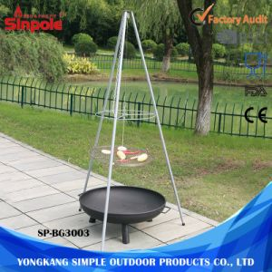 Easy to Assemble Portable Camping Barbecue Charcoal BBQ Grills pictures & photos