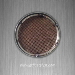 Car Exhaust System Rare Earth Catalyst -Coated Metal Honeycomb Catalyst Filter pictures & photos