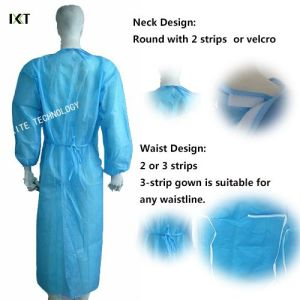 Operating Room Nonwoven Disposable Hospital Gowns pictures & photos