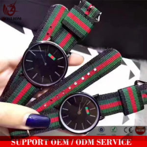 Yxl-076 2017 latest Hot Selling New Products Rainbow Nylon Nato Band Dw Wrist Watches pictures & photos