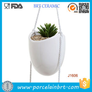 Indoor/Outdoor Wall/Hanging/Corner/Balcony Herb/Seed Ceramic/Terracotta Modern/Decorative/Concrete Large/Small Garden Planter Pot pictures & photos