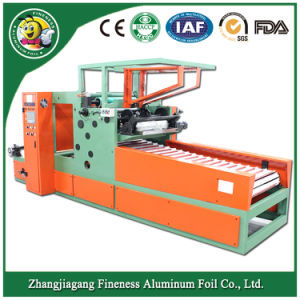 Full Automatic Aluminum Foil Rewinding Machine for Cutting and Rewinding pictures & photos