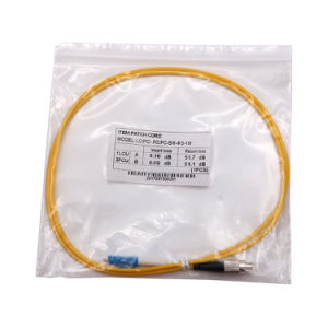 Single Mode Multimode Simplex Duplex Fiber Optic Patch Cord pictures & photos