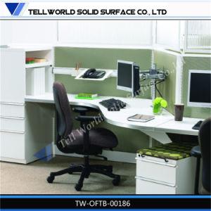 L Shape Office Desk Office Table Office Workstation Desk Clerk Desk Design pictures & photos
