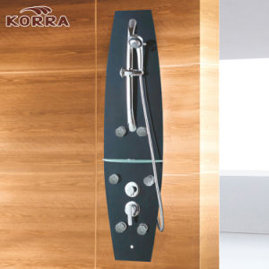 Deep Color Tempered Glass Shower Panel pictures & photos