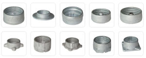 Flange Aluminum Fitting for Composite/Procelain Insulator pictures & photos